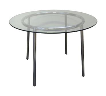 Glastisch rund 70 cm com forafrica for Designer glastisch rund
